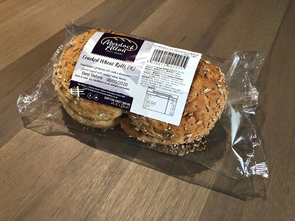 Cracked Wheat Rolls - Pack of 4
