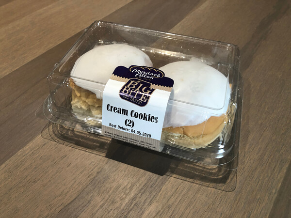 Cream Cookies - Pack of 2